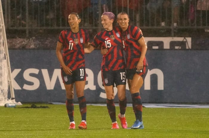 Football féminin: États-Unis contre Japon