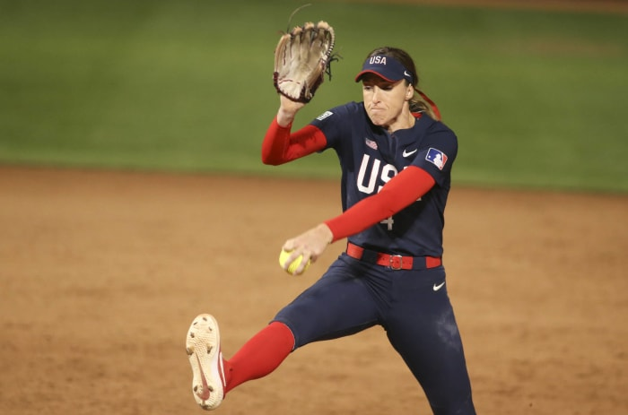 Softball: États-Unis contre Japon