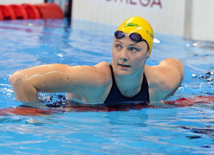 Relais 4x100 QN de natation féminin : États-Unis vs Australie