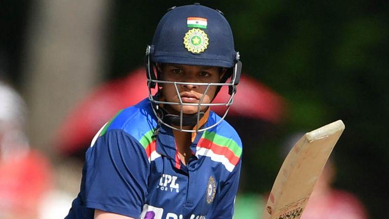 Shafali Verma a joué pour l'Inde lors des récents matchs contre l'Angleterre