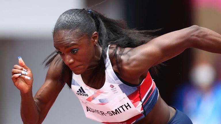 Dina Asher-Smith a raté la finale olympique du 100 m alors que son coéquipier Daryll Neita s'est qualifié pour l'épreuve phare (Crédit: BBC Sport)