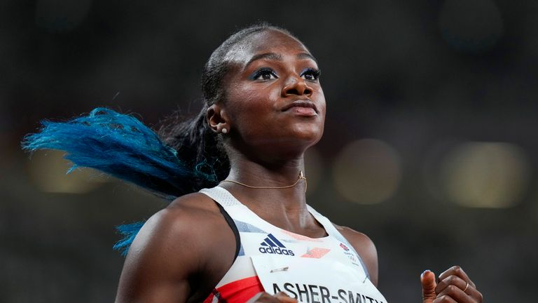 Dina Asher-Smith a révélé l'avance cauchemardesque des Jeux qu'elle a eue après une déchirure aux ischio-jambiers il y a six semaines