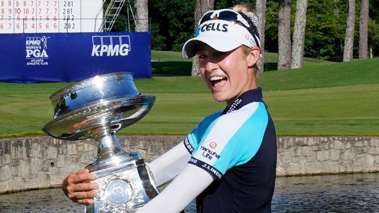 Nelly Korda a remporté le championnat PGA féminin le mois dernier