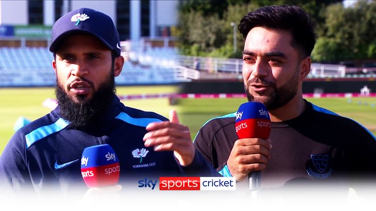 Ahead of Tuesday's T20 Blast quarter-final, Adil Rashid and Rashid Khan discussed all things leg-spin - and what they make of each other's bowling