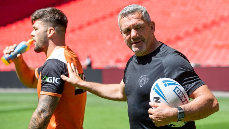 Powell departs Castleford for the Wolves after this season having coached them since 2013