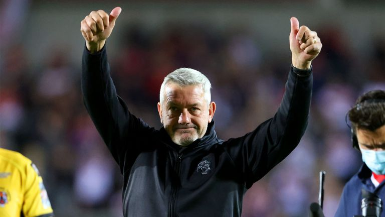 Castleford coach Daryl Powell says he had a premonition the Tigers' playoff hopes would come down to the final game vs Warrington - the club he is joining