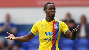 'I don't like losing' – Crystal Palace's Zaha on why he 'moans' on the pitch