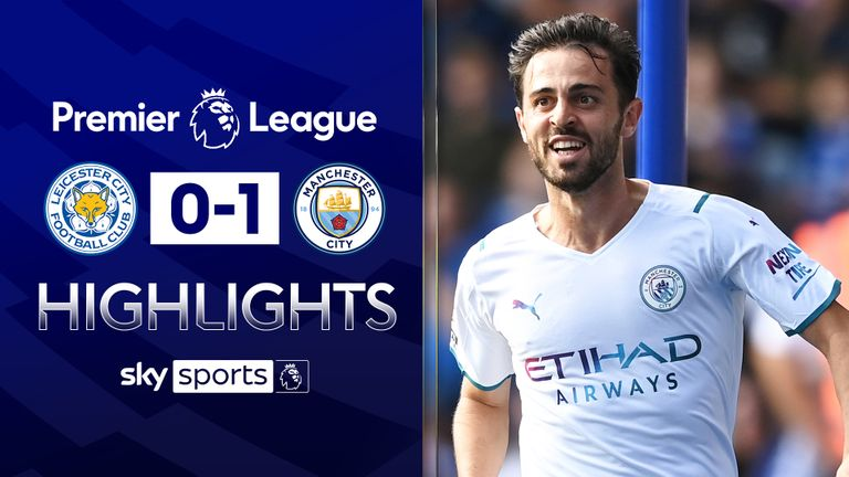 LEICESTER 0-1 MANCHESTER CITY