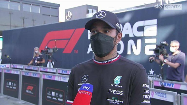 Lewis Hamilton a reproché à son rival du championnat Max Verstappen d'être trop agressif et d'avoir causé leur collision au GP d'Italie.