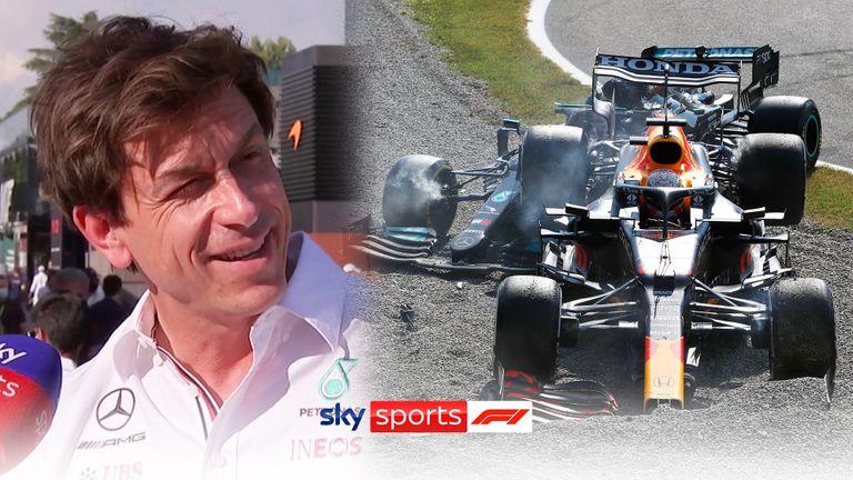 Le patron de Mercedes, Toto Wolff, estime que la collision entre Lewis Hamilton et Max Verstappen était une