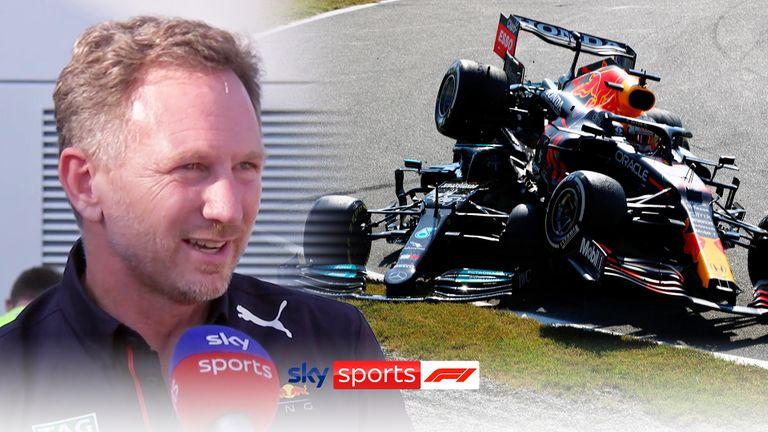 Le directeur de l'équipe Red Bull, Christian Horner, pense que la collision entre Max Verstappen et Lewis Hamilton était un incident de course.