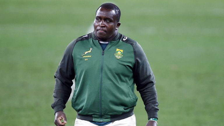 The second change sees prop Trevor Nyakane start at loosehead, with Steven Kitshoff dropping to the bench