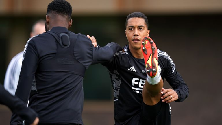 Leicester City's Youri Tielemans is considering his future