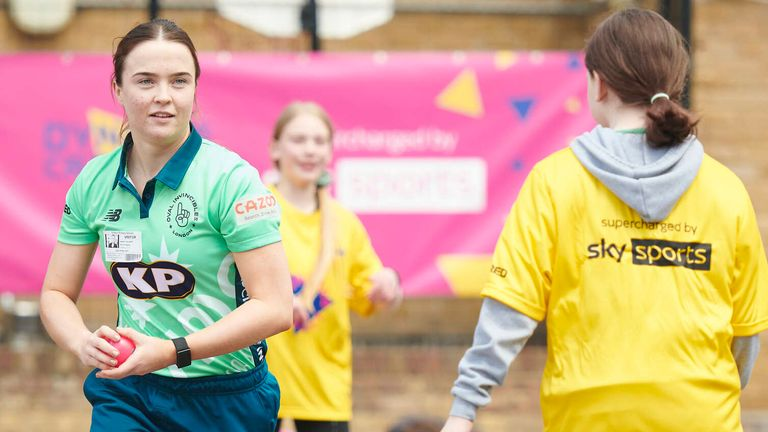 England bowler Mady Villiers said it's important to break the stigma attached to cricket, when she attended the launch of Dynamos Cricket Intros earlier this summer