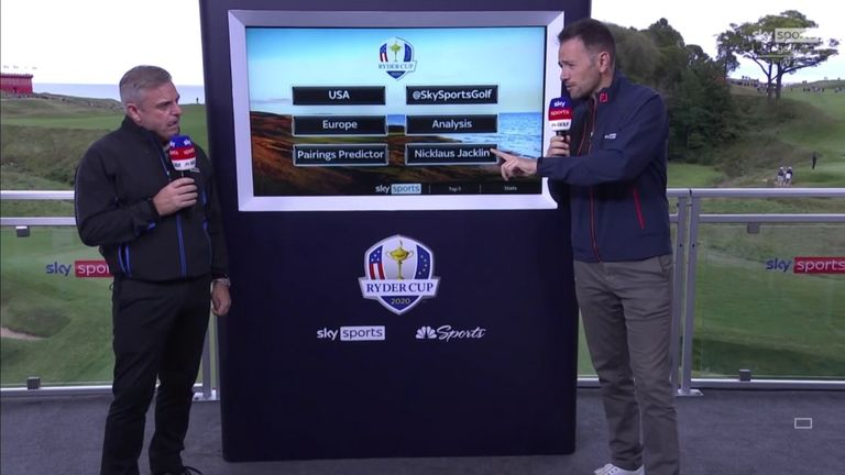 Paul McGinley and Nick Dougherty take a closer look at the challenge facing the players at Whistling Straits and look at the numbers to suggest how the venue could suit the European team