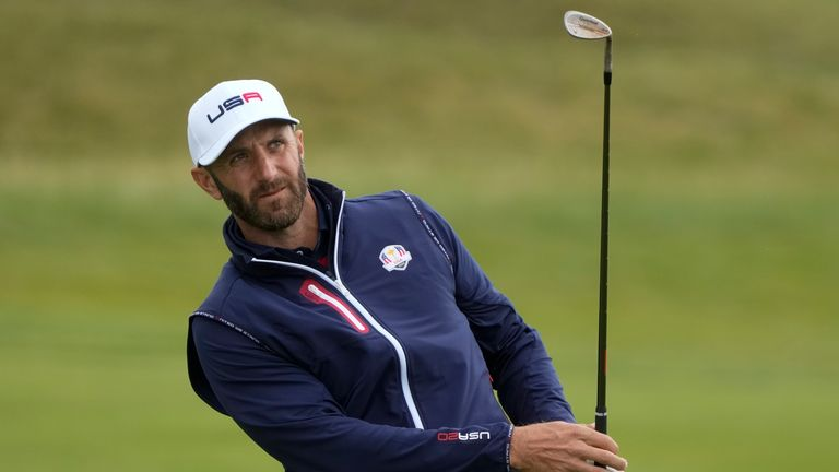 Dustin Johnson has set his sights on a future role as Ryder Cup captain