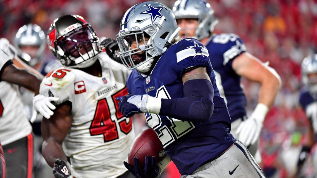 Cowboys downplay Ezekiel Elliott's lacking touches in Week 1: 'We're going to need Zeke to pound it'