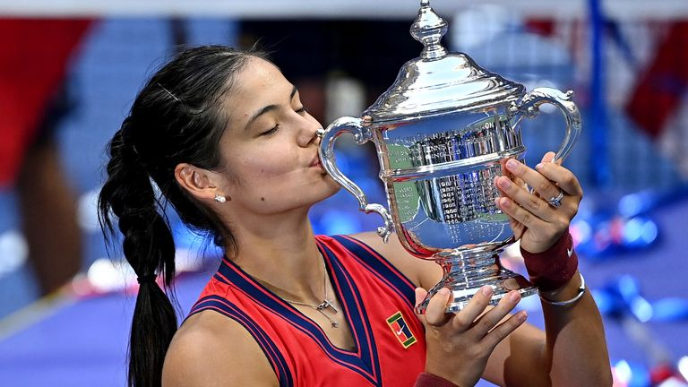 Raducanu's US Open win has seen her rise to 23rd in the latest world rankings