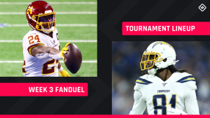 FanDuel Picks Week 3: NFL DFS lineup advice for daily fantasy football GPP tournaments