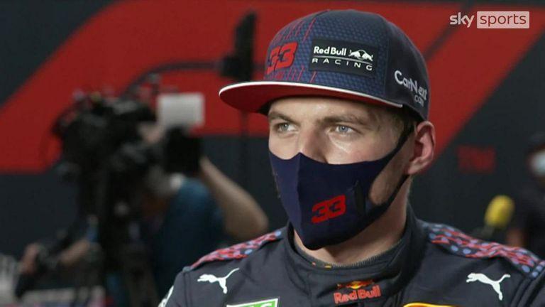 Max Verstappen de Red Bull revient sur sa séance de qualification après avoir terminé troisième derrière le duo Mercedes composé de Valtteri Bottas et Lewis Hamilton.
