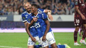 Habib Diallo haunts former club Metz with brace in Strasbourg win