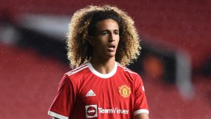 Hannibal Mejbri can become a 'future Paul Scholes at Manchester United', says former coach Bekhti