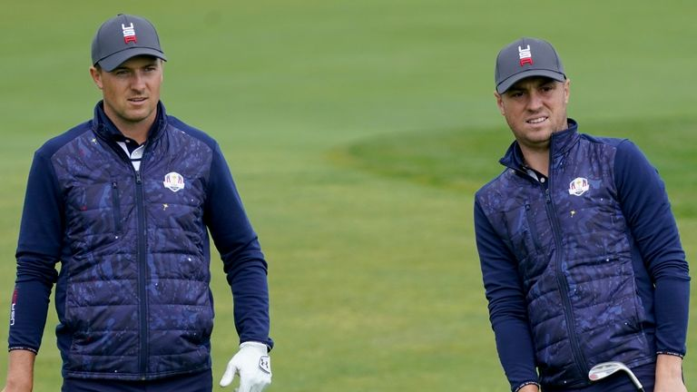 Will Jordan Spieth and Justin Thomas feature together for Team USA on Friday?