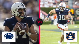 What channel is Auburn vs. Penn State on today? Time, TV schedule for Week 3 college football game