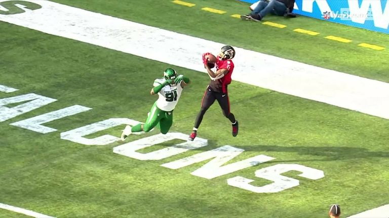 Matt Ryan and Kyle Pitts were key to a hugely impressive 92-yard touchdown drive!