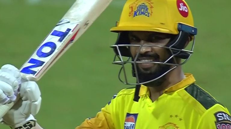 Ruturaj Gaikwad's fourth IPL fifty came up off 33 deliveries when Chennai faced Kolkata in April