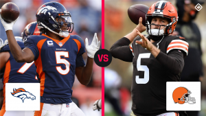 What time is the NFL game tonight? TV schedule, channel for Browns vs. Broncos in Week 7