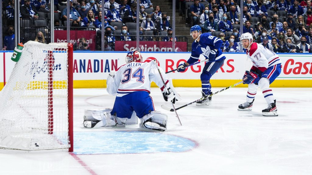Canadiens vs. Maple Leafs result: William Nylander third-period goal gives Toronto season-opening win