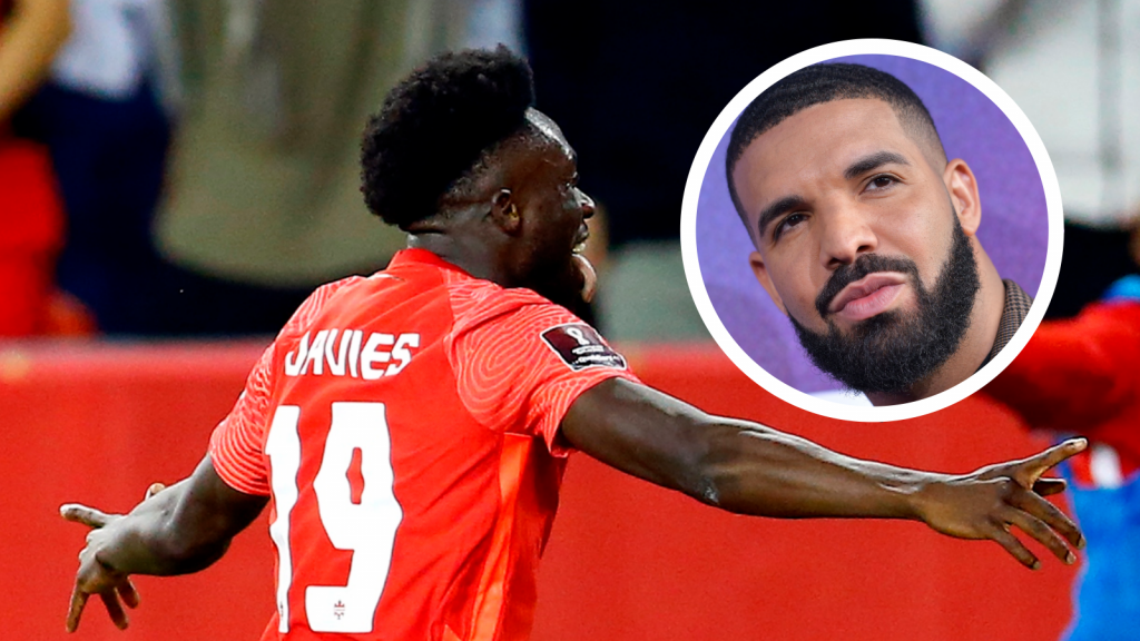 Drake asks to meet Alphonso Davies after Bayern star's stunning solo goal for Canada