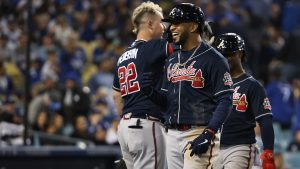 Eddie Rosario shines as latest Braves midseason acquisition to deliver in postseason