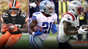 Fantasy Injury Updates: Latest news on Kareem Hunt, Ezekiel Elliott, Damien Harris, more RBs affecting Week 6 start 'em, sit 'em calls