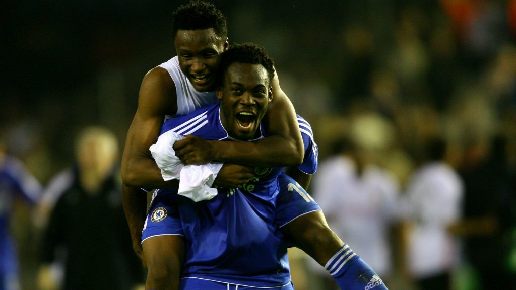 'He was the guy who really helped me at Chelsea' - Mikel singles out Essien for praise