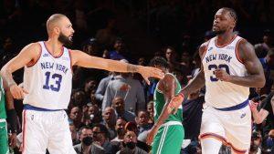 Knicks vs. Celtics score, results: Resilient Knicks outlast Celtics in double overtime thriller