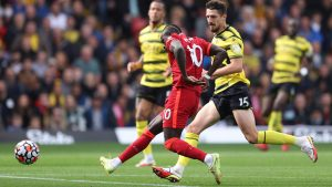 Liverpool star Mane joins Premier League's 100-goal club with Watford opener