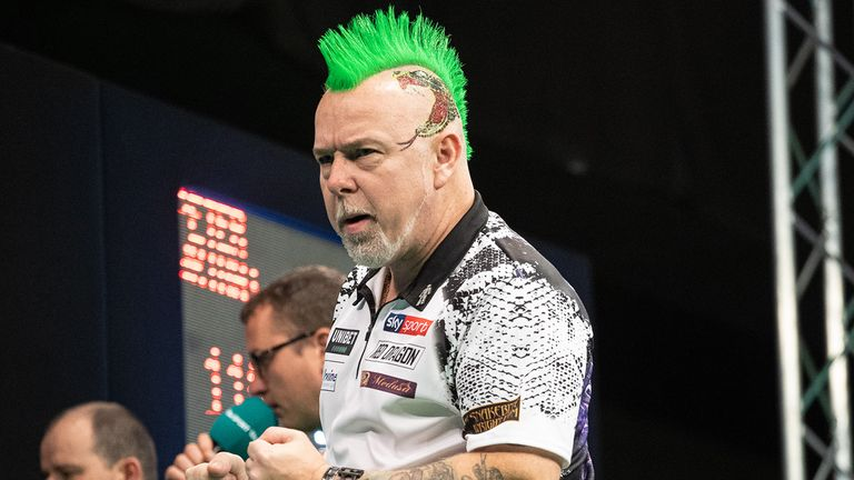 Peter Wright is set to defend his European Championship title in Salzburg