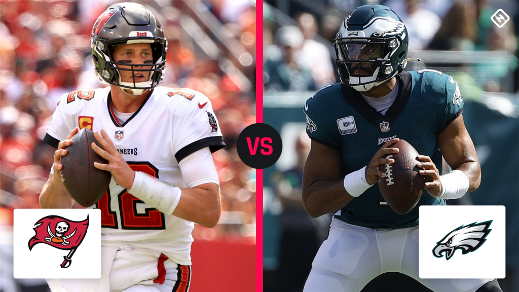 What channel is Buccaneers vs. Eagles on today? Schedule, time for NFL 'Thursday Night Football' in Week 6