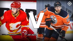 What channel is Flames vs. Oilers on today? Time, TV schedule for first 2021-22 Battle of Alberta