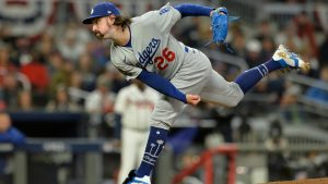 Why Dodgers' Tony Gonsolin wears cats cleats: 'I just always liked cats'